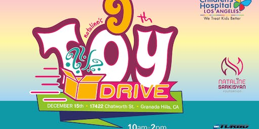 9th Annual Toy Drive Benefits Children Hospital Los Angeles