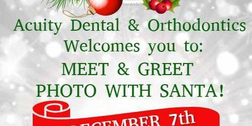 Santa Bob is coming to Acuity Dental & Orthodontics