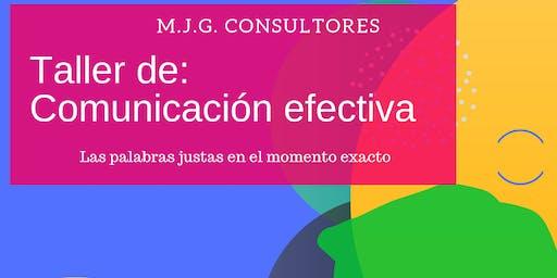 Taller de Comunicaciones efectivas #online