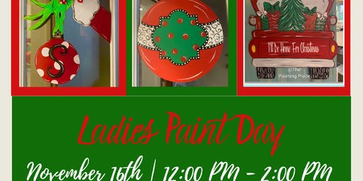 Ladies Holiday Paint Day