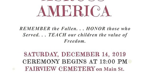 Veterans - Wreaths Across America at Fairview Cemetery
