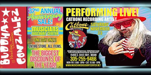 Musicians Discount Center 32nd Anniversary Party