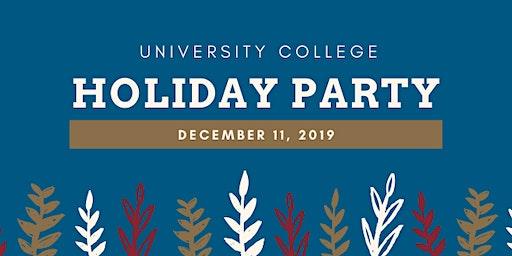 University College Annual Holiday Celebration