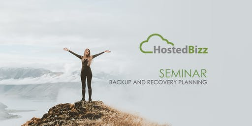 HostedBizz presents Backup and Disaster Recovery: Lunch & Learn