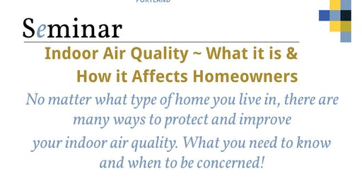 1 Hr. CE- CLASS Indoor Air Quality ~ What it is & How it Affects Homeowners. Presented By: Mark Ritacco, President Owner of Certified Indoor Environmental