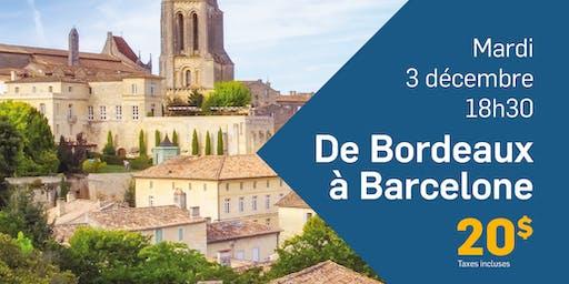 Soirée conférence - Barcelone à Bordeaux avec Yvan Ouellet