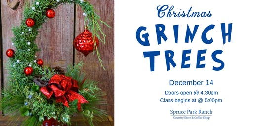 Christmas Grinch Trees Class