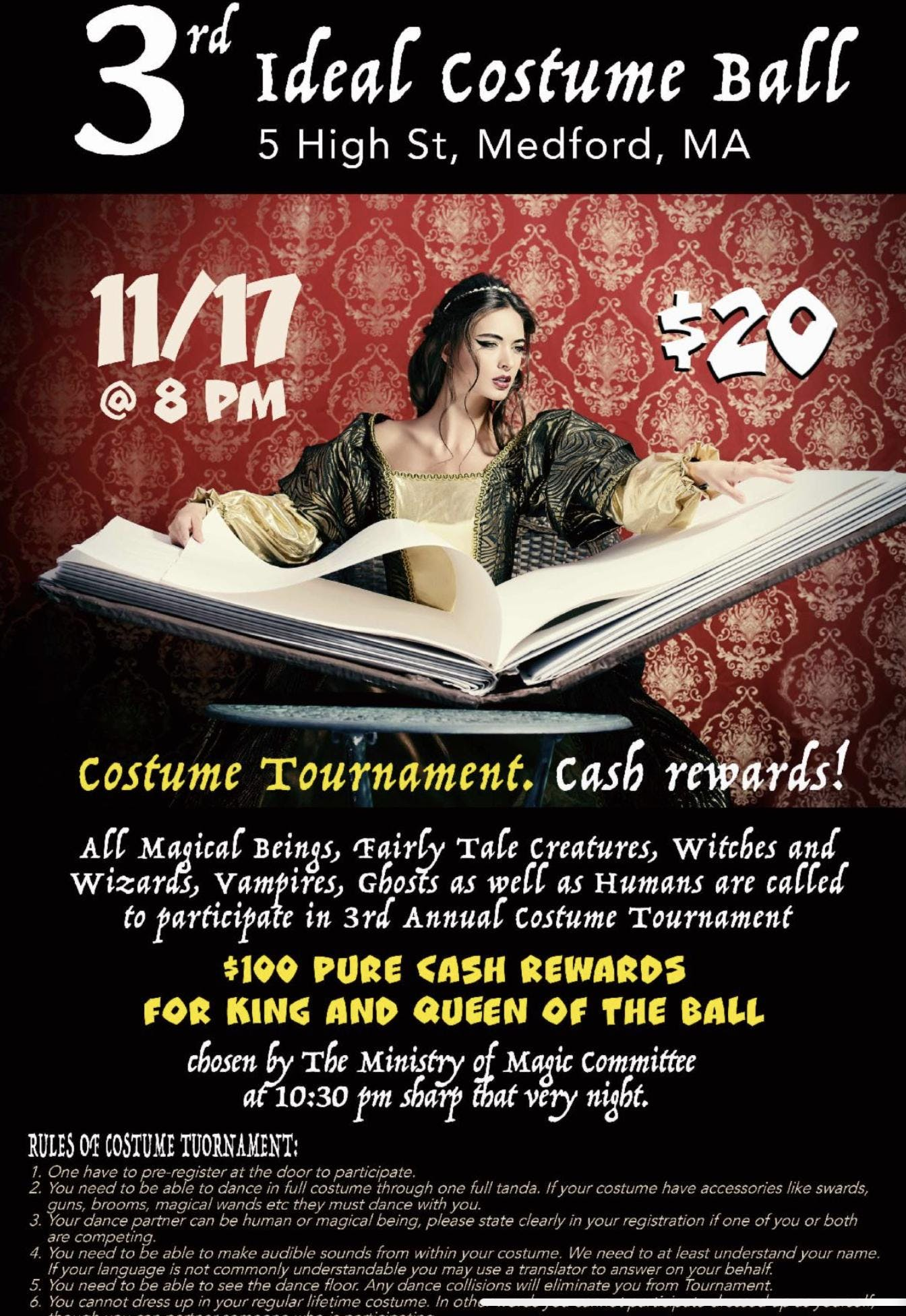 3rd Annual Costume Ball and Costume Tournament