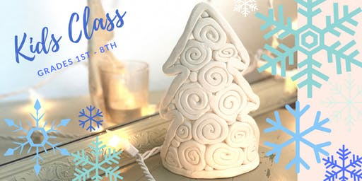 Kids Class - Clay Christmas Tree Luminary