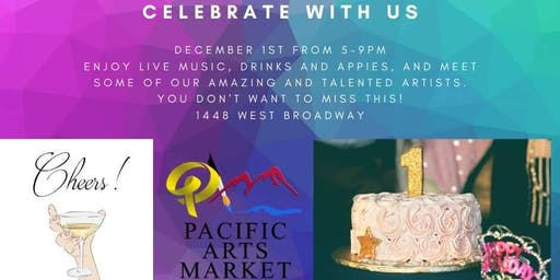Pacific Arts Market's First Year Celebration!