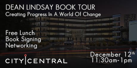 Book Tour w/ Dean Lindsay: Creating Progress in a World of Change E Plano tickets