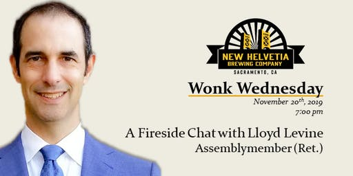 Wonk Wednesday: A fireside chat w/Former Assemblymember Lloyd Levine