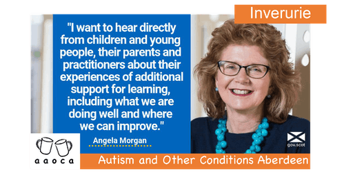 Angela Morgan OBE in Inverurie: Review of Additional Support for Learning