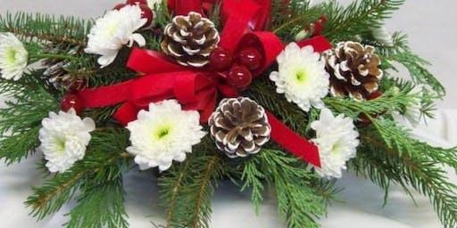 Christmas Centerpiece Alzheimer's Fundraiser