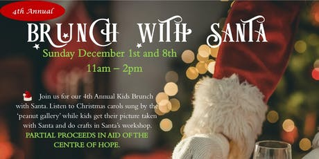 Brunch with Santa at the Quality Hotel & Conference Centre tickets