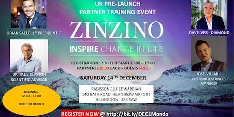 Zinzino 1Mondo Team Training tickets