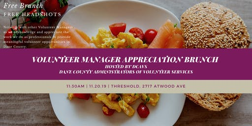 Volunteer Manager Appreciation Event