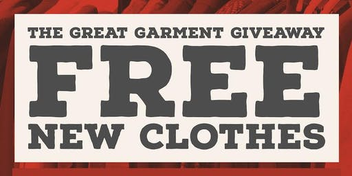 Great Garment Giveaway