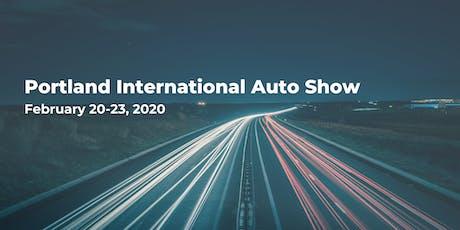 Portland International Auto Show tickets