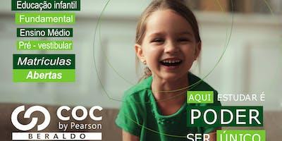 MATRÍCULAS ABERTAS COC BERALDO 2020