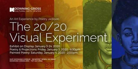 The 20/20 Visual Experiment - Art Reception & Painted Meditation tickets