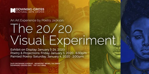 The 20/20 Visual Experiment - Art Reception & Painted Meditation