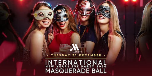 International New Years Eve Party Masquerade Ball