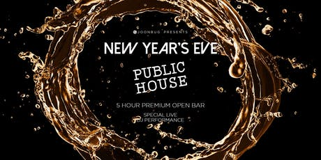 Public House New Years Eve 2020 Party tickets