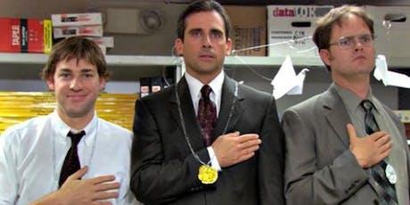 The Office Trivia: Dunder Mifflin-Win a Dundie 12/4 tickets