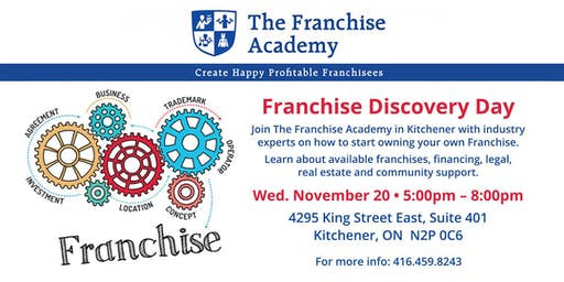How to choose the right franchise for you!