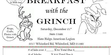 Breakfast with Grinch tickets