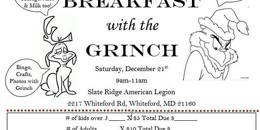 Breakfast with Grinch