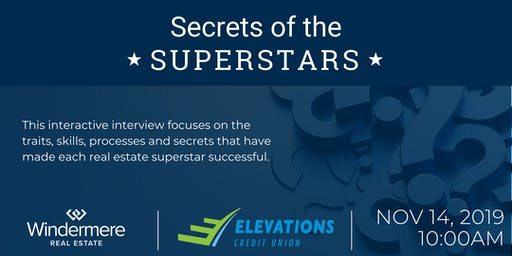 Secrets of the Superstars - Featuring Scott Matthias