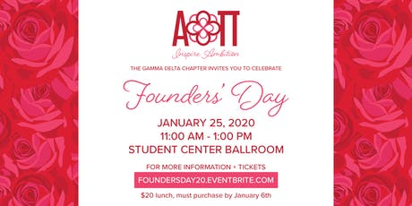 AOII- Gamma Delta Founders' Day tickets