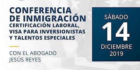 Conferencia Migratoria tickets