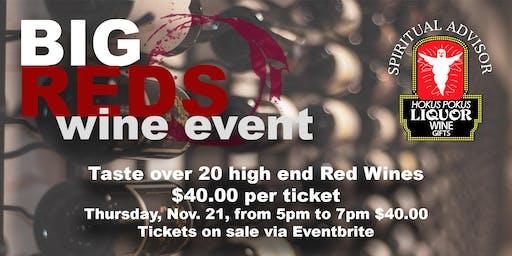 Big Reds Wine Event