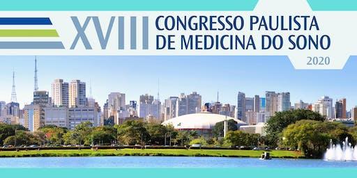 XVIII Congresso Paulista de Medicina do Sono 2020