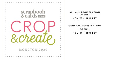 Crop & Create Moncton 2020 tickets