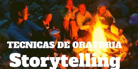 Seminario de Oratoria con Storytelling entradas