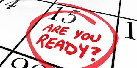 Employee Event:Interview Preparation tickets