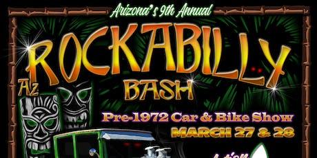 9th Annual AZ Rockabilly Bash -  tickets