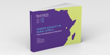 Gender Equality in Rural Africa: From Commitments to Outcomes tickets