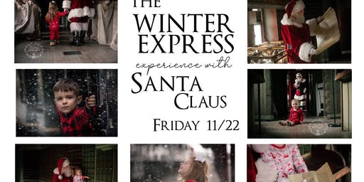 Winter Express Photos with Santa