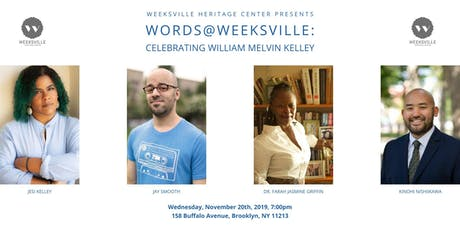 Words @ Weeksville: Celebrating William Melvin Kelley tickets