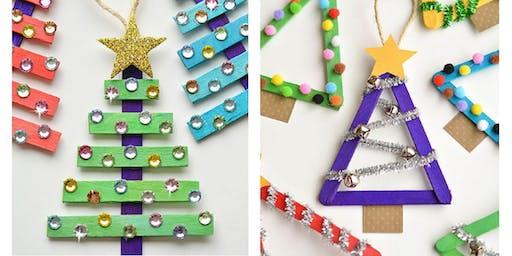 Christmas Tree Ornament Kids Craft