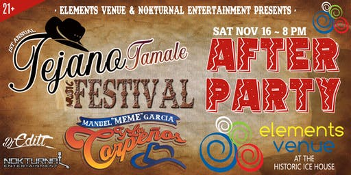 "Tejano Music Festival ""After Party"""