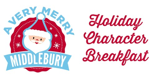 2019 Very Merry Middlebury Character Pancake Breakfast