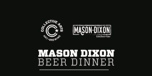 Mason-Dixon Kitchen + bar and Collective Arts Beer Pairing Dinner