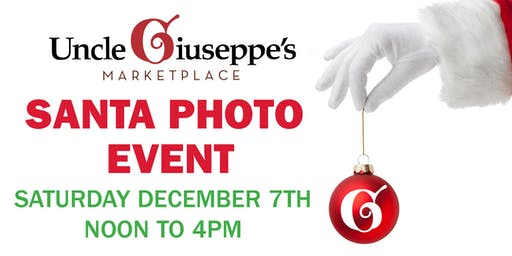 Santa Photo Event Port Jefferson Uncle Giuseppe's