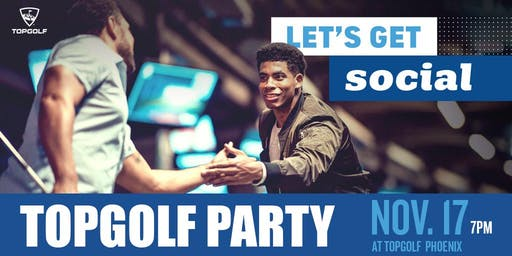 PHX Fray Hole-In-One Topgolf Party